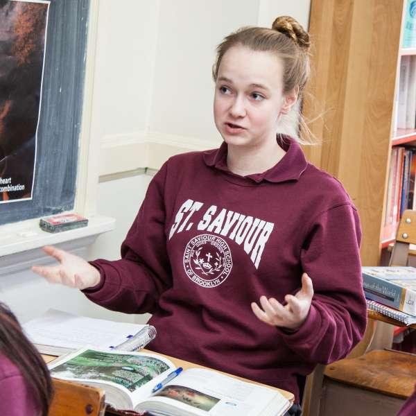 creative writing class description high school